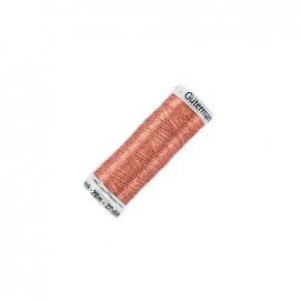 Gütermann Trend Metallic thread bobbin - copper