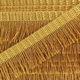 Frange Cabaret - doré x 1m