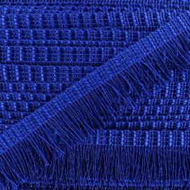 Frange Cabaret - bleu roy x 1m