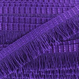 Frange Cabaret - violet x 1m