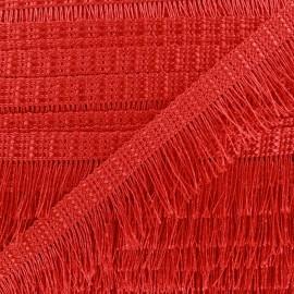 Frange Cabaret - rouge x 1m