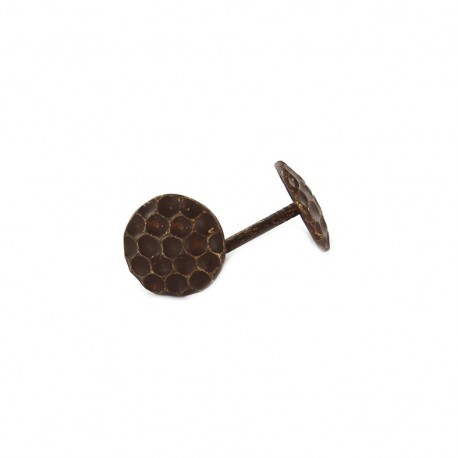 Upholstery Alveoles nail 12mm, 100 pack - bronze