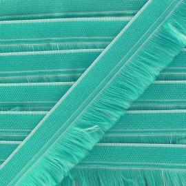 Frange Navajos - vert d'eau x 1m