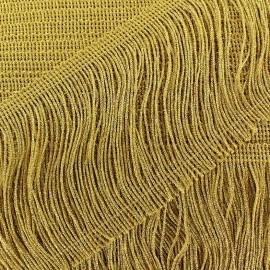 Frange Charleston lurex doré 10 cm x 50cm