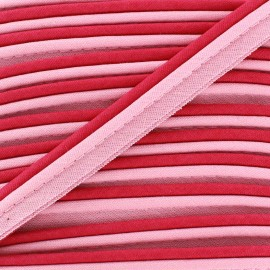 Two-tone Piping - Pink/fuchsia
