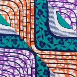 Tissu Wax Mamfé x 10cm