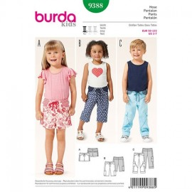 Pantalon Burda Kids n°9388