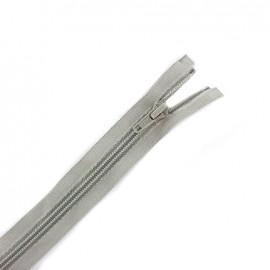 Fermeture  Eclair® tricot séparable - gris clair