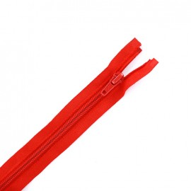Eclair®  tricot separating zipper - red
