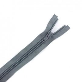 Fermeture  Eclair® tricot séparable - gris foncé