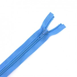 Eclair®  tricot separating zipper - florida blue