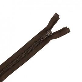 Fermeture  Eclair® tricot séparable - brou de noix