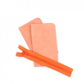 "Small pocket kit ""Illium"" - coral"