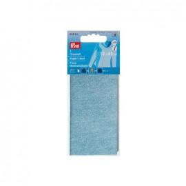 Pièce thermocollante pour JEANS - bleu clair