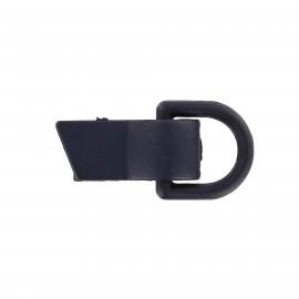 Clip fastener for children ' clothes - navy