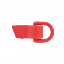 Clip fastener for children ' clothes - red