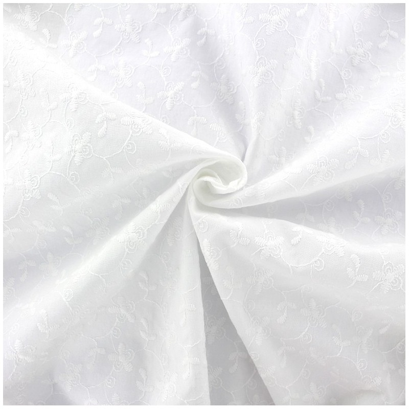 Tissu voile rideaux brode coton 28 images tissu voile for Carrelage 65x65