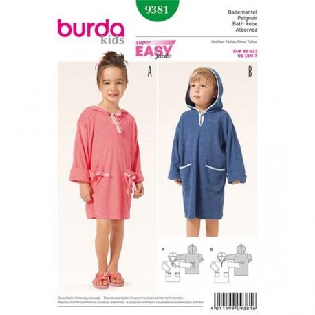 T-shirt et robe Burda Kids n°9385