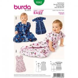 sac de couchage - gigoteuse Burda Kids n°9382