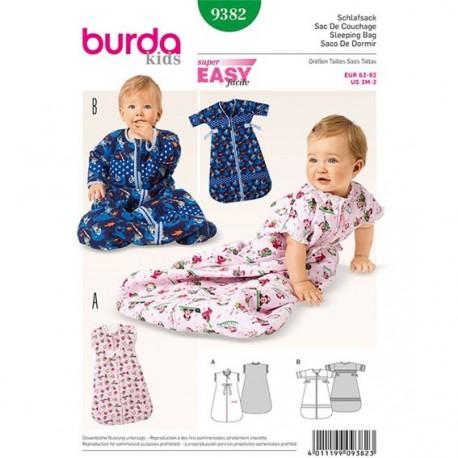 sleeping bag Burda n°9382