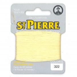Laine Saint Pierre pour repriser / broder - orge n°322
