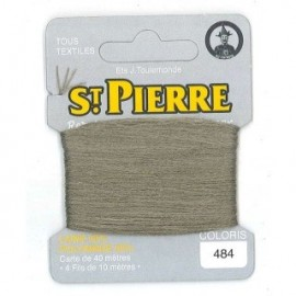 Laine Saint Pierre 40 M card Darning / embroidery - 484 Reseda