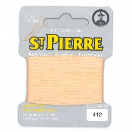 Laine Saint Pierre 40 M card Darning / embroidery - 412 Banana
