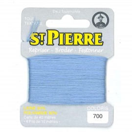 Laine Saint Pierre 40 M card Darning / embroidery - 700 Nattier blue