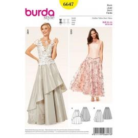 Jupe Burda n°6647