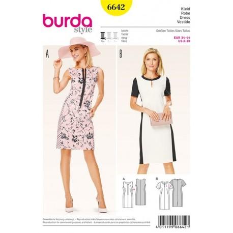 Robe Burda n°6642