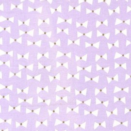 Tissu Bow Ties - opal  x 10cm