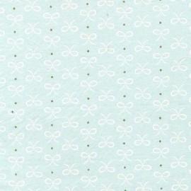 Fabric Bitty Bows - mist x 10cm