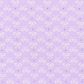 Tissu Bitty Bows - opal  x 10cm