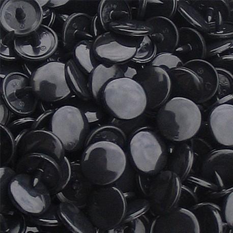 10 pressions KAM résine noir