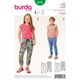 Pantalon Burda Kids n°9393