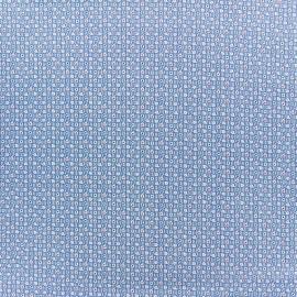 Tissu popeline Mini Dotty - bleu ciel x 10cm