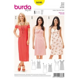 Robe Burda n°6686