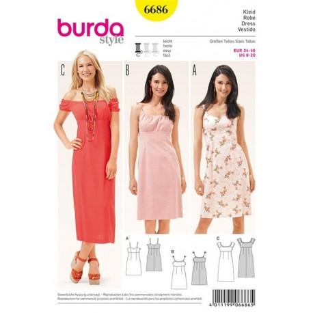 Dress Burda n°6686