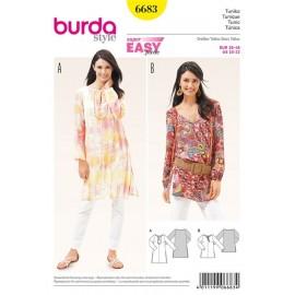 Tunic Burda n°6683
