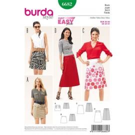 Patron Jupe Burda n°6682