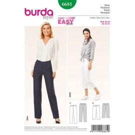 Pants Burda n°6681