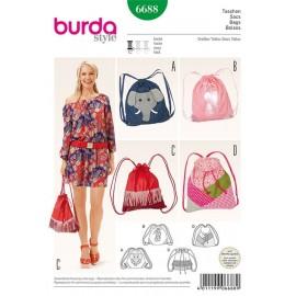 Bags Burda n°6688