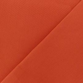 Tissu toile Plein Air uni (320cm) - orange x 10cm