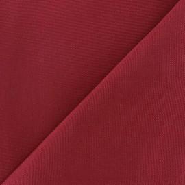 Tissu toile Plein Air 320cm - bordeaux x 10cm