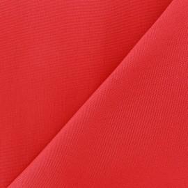 Tissu toile Plein Air uni (320cm) - rouge x 10cm