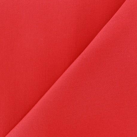 Tissu toile Plein Air 320cm - rouge x 10cm
