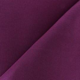Tissu toile Plein Air Dralon® uni (320cm) - prune x 10cm