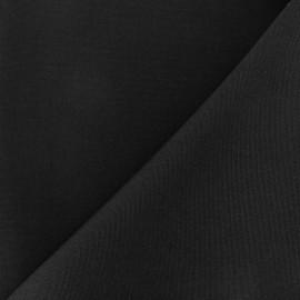 Tissu toile Plein Air 320cm - noir x 10cm