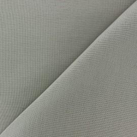 Tissu toile Plein Air uni (320cm) - gris x 10cm