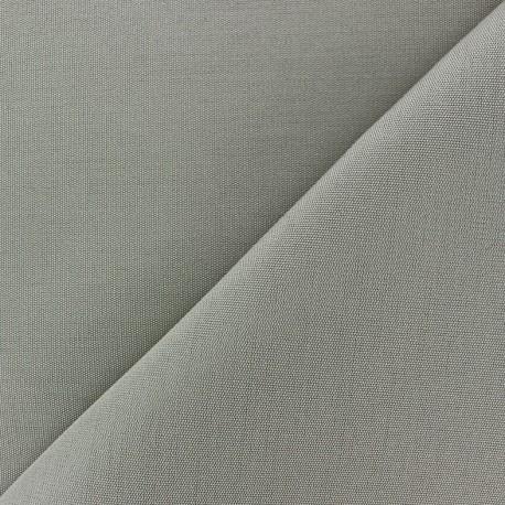 Tissu toile Plein Air 320cm - gris x 10cm